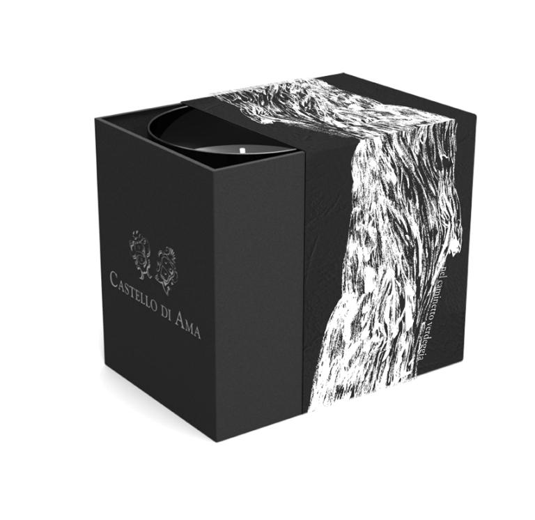 Il nuovo packaging di Castello di Ama per le candele con gli aromi delle stagioni